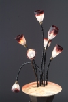 "Articulation Project; ""Ikebana"" detail, light, lamp"
