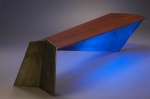 """Low Rider"" lighted table/bench"