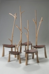 """Stand"" set of valet style chairs"