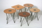 """Square Peg"" tables side table"