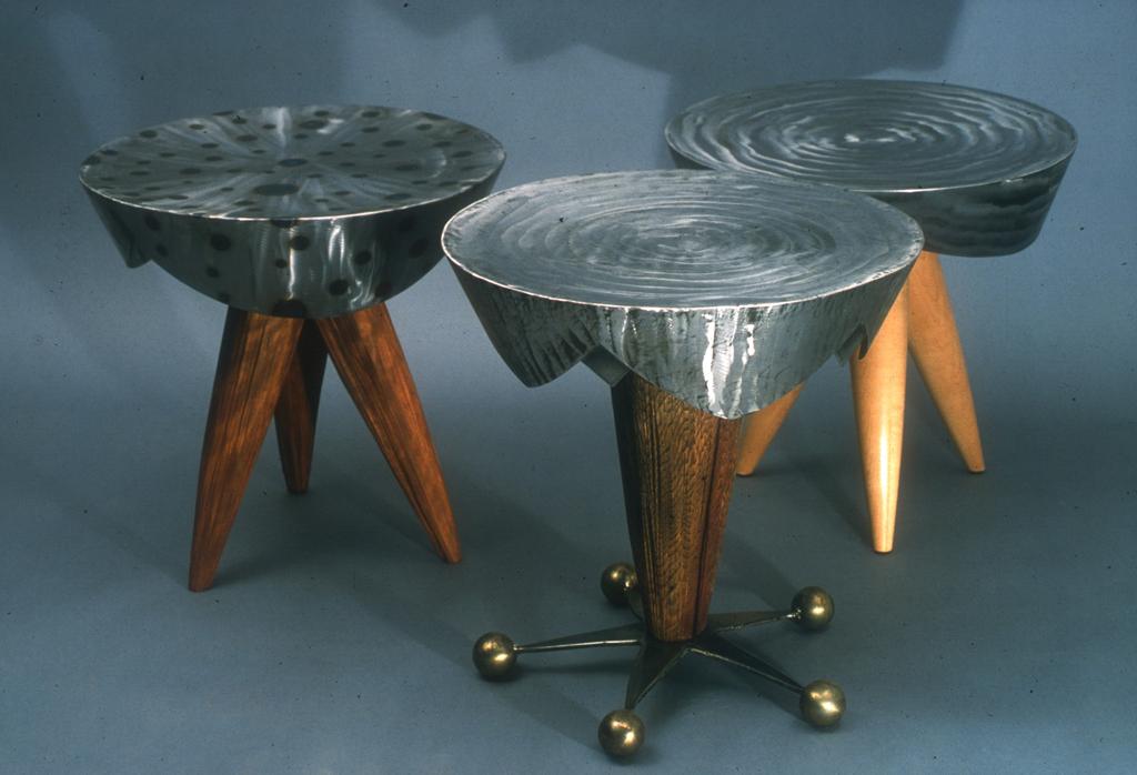 Charmant U0026quot;Steel Drumu0026quot; Table Series, Side Table. U201c