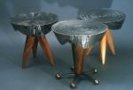 """""""Steel Drum"""" table series, side table"""