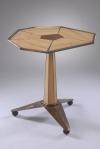 Tilt Top Tea Table, Bronze