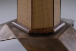 Tilt Top Tea Table (bronze base detail)